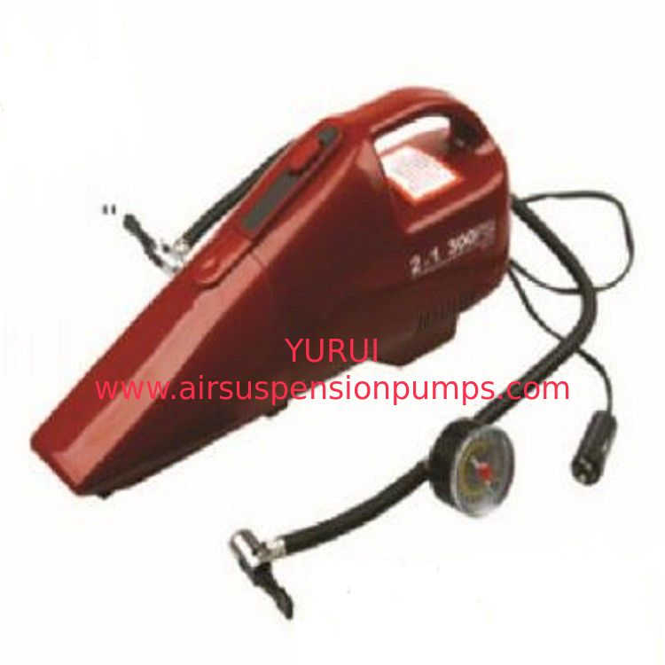 Car  Vacuum Cleaner  250PSI  Compressor  Handheld Vacuum Cleaner With  Inflator Adaptor Auto Vacuum Cleaner