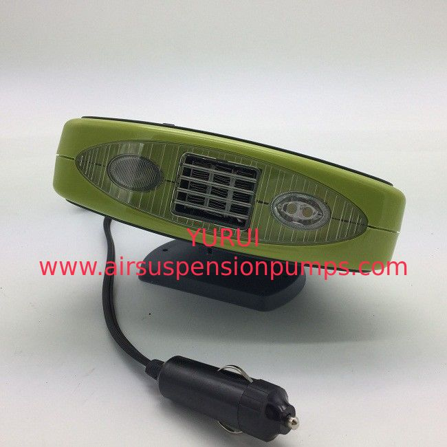 Green Portable Car Heaters Auto Fan Heater Two Switch With Pic Heating Element