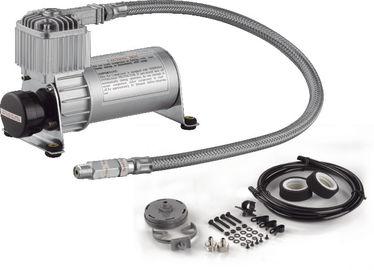 Schwarze und silberne Luft-Fahrmotorgetriebener Kompressor mit schnellem Pumpen-Funktions-Luft-Behälter