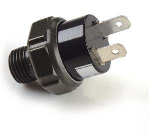Schwarze pneumatische Luftpumpe-Installationen/Plastik-Druckschalter des Luftkompressors 12v