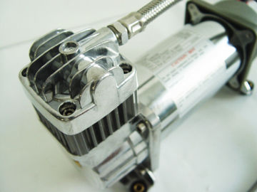 Chrome-Airbag-Luft-Fahrsuspendierungs-Kompressor 150psi 2.18CFM, Luftkompressor des Auto-12v
